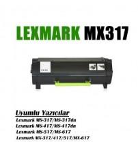 Lexmark MX-517/MX-517de Çipli MX317 Muadil Toner /NP/ MX-317