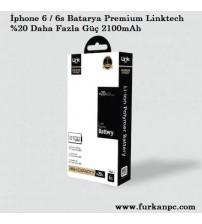 Link Tech Batarya İPhone 6S Premium 2100 mAh