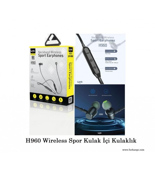 Link Tech Bluetooth Kablosuz Kulaklık H-960