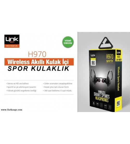 Link Tech Bluetooth Kablosuz Kulaklık H-970