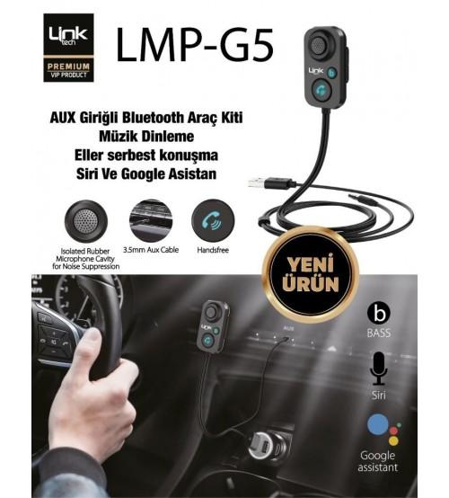 LMP-G5 Link Tech Aux Bluetooth Araç Kiti