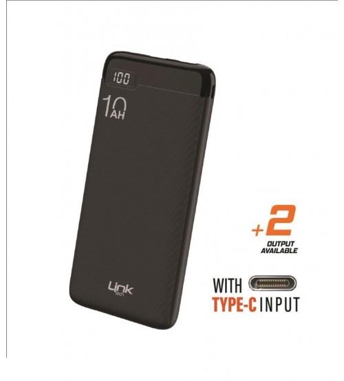 LT10 Link Tech Powerbank 10000 mAh Lcd Display