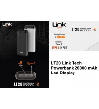 LT20 Link Tech Powerbank 20000 mAh Lcd Display