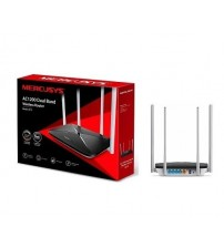 Mercusys AC12 AC 1200 Mbps Dual Band 4 Portlu & 4 Antenli Router