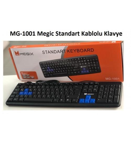 MG-1001 Megic Standart Kablolu Klavye
