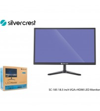 "Monitör 18.5"" Silver Crest SC-185 VGA+HDMI Full Hd Led"