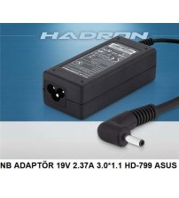 NB ADAPTÖR 19V 2.37A 3.0*1.1 HD-799 ASUS