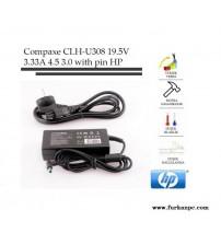 Nb Adaptör CLH-U308 HP Compaxe 19.5V 3.33A (4.5*3.0)