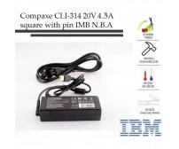 NB Adaptör CLI-314 Compaxe IBM 20V/4.5A SQUARE Lenovo
