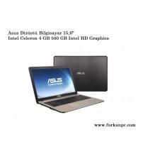 """Asus X540NA-GO067 İntel Celeron N3350 4GB 500GB 15.6"""""""