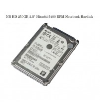 "NB HD 250GB 2.5"" Hitachi 5400 RPM Notebook Hardisk"