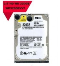 NB HDD 320GB WD WD3200BWT NOTEBOOK HARDİSK 2,5""