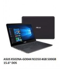 "NBB ASUS X502NA-GO044 N3350 4GB 500GB 15.6"" DOS"