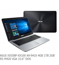"""NBB ASUS X555BP-XX100 A9-9410 4GB 1TB 2GBR5 M420 VGA 15.6"""" DOS"""