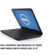 "NBB DELL INSPIRON 3567/B20F45C I5-7200U4GB 500GB 2GB R5 M430 VGA 15.6"""