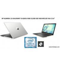 "NBB HP 6LB49EA 15-DA1056NT I5-8265U 8GB 512GB SSD 4GB MX130 VGA 15.6"""