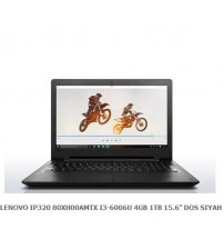 "NBB LENOVO IP320 80XH00AMTX I3-6006U 4GB 1TB 15.6"" DOS SIYAH"