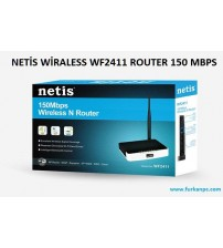 NETİS WİRALESS WF2411 ROUTER 150 MBPS