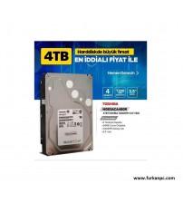 "PC 4TB Toshıba 3.5"" Hardisk 7200 RPM 64MB"