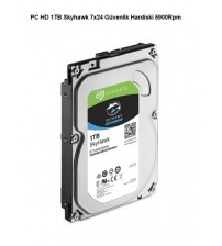 PC HD 1TB Skyhawk 7x24 Güvenlik Hardiski 5900Rpm