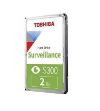 PC HD 2TB Toshiba S300 SATA 7X24 Güvenlik Hardiski