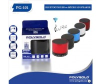 PG-101 Poly Gold Bluetoothlu Speaker