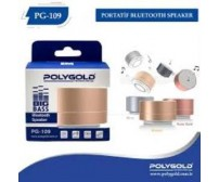 PG-109 Poly Gold Bluetoothlu Speaker