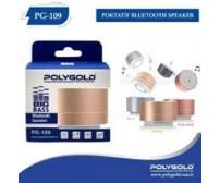 PG-109 Poly Gold Bluetoothlu Speaker
