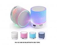 PG-132 Poly Gold Bluetoothlu Speaker