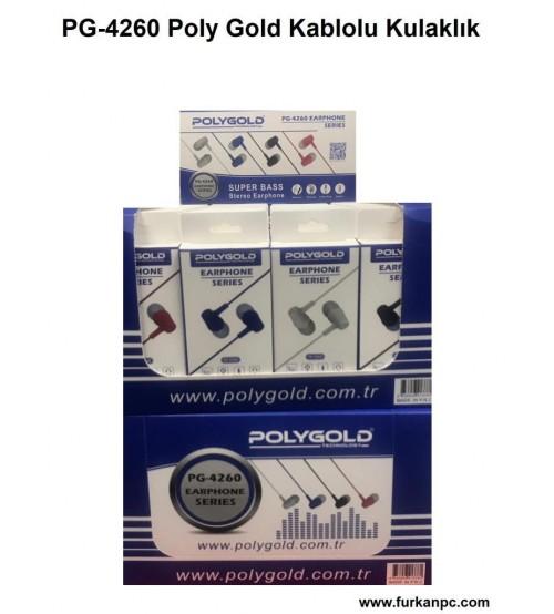 PG-4260 Poly Gold Kablolu Kulaklık