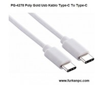 PG-4278 Poly Gold Usb Kablo Type-C To Type-C