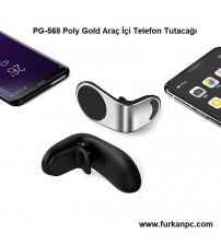 PG-568 Poly Gold Araç İçi Telefon Tutacağı