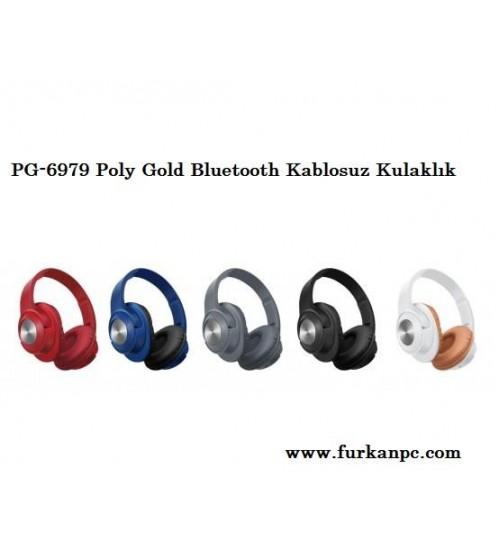 PG-6979 Poly Gold Bluetooth Kablosuz Kulaklık
