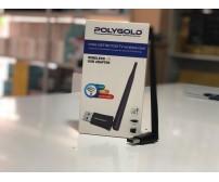 PG-716 Poly Gold Usb Wireless Adaptör 6DBi