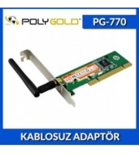PG-770 poly Gold Kablosuz Kasa İçi Wireless