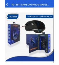 PG-8811 Poly Gold Kablolu Mouse 2400 Dpi