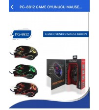 PG-8812 Poly Gold Kablolu Mouse 2400 Dpi