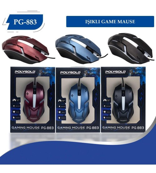PG-883 Poly Gold Kablolu Mouse
