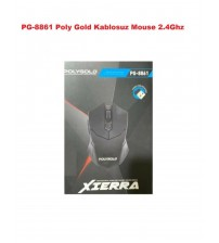 PG-8861 Poly Gold Kablosuz Mouse 2.4Ghz