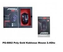 PG-8862 Poly Gold Kablosuz Mouse 2.4Ghz