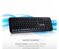 PG-921 Poly Gold Kablolu Klavye