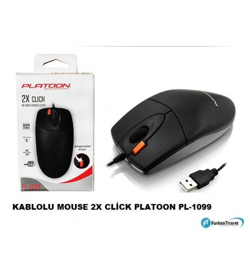 PL-1099 Platoon Kablolu Mouse 2X Click