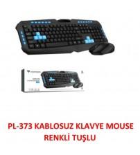 PL-373 Platoon Kablosuz Set Klavye & Mouse