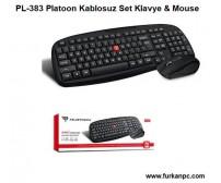 PL-383 Platoon Kablosuz Set Klavye & Mouse