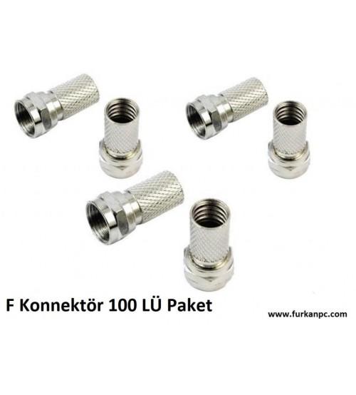 PL-740 F Konnektör 100 LÜ Paket