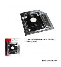 PL-8891 Notebook SDD Dvd Hardisk Kutusu Caddy