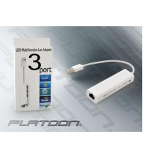 PLATOON PL-8706 USB ETHERNET VE USB ÇOĞALTICI