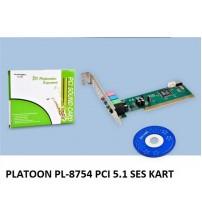 PLATOON PL-8754 PCI 5.1 SES KART