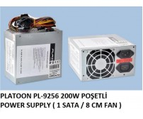 PLATOON PL-9256 200W POŞETLİ POWER SUPPLY ( 1 SATA / 8 CM FAN )