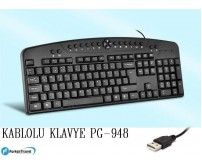 PG-948 Poly Gold Kablolu Klavye Multimedya